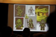 Evil Green Ninja Concepts