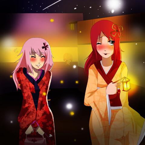 File:Kitsune and saki.jpg