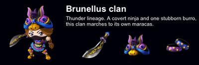 Brunellus Clan event