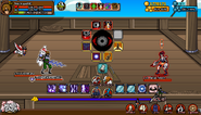Attack from Ninja Pirates - Battle 01