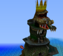 K. Rool's Mobile Island