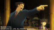 Professor Layton VS Ace Attorney screenshot 2