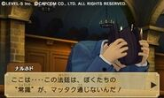 Professor Layton vs Ace Attorney screenshot 19