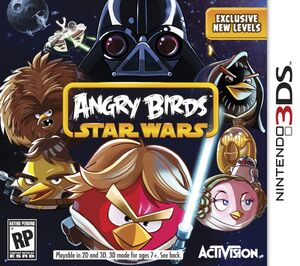 Angry Birds Star Wars box art