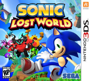 Sonic Lost World box art