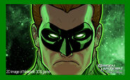 Green Lantern 3DS screenshot 1