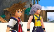 Kingdom Hearts 3D screenshot 1