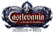 Castlevania Mirror of Fate logo