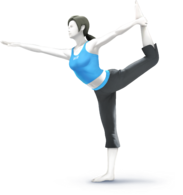 Wii Fit Trainer - Super Smash Bros.