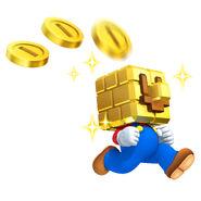 Brick Block Mario (New Super Mario Bros. 2)