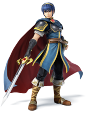 Marth - Super Smash Bros.