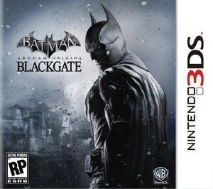 Batman Arkham Origins Blackgate box art