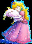 Peach - Mario & Luigi Dream Team
