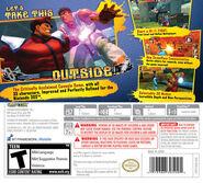 Super Street Fighter IV back cover
