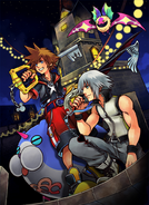 Kingdom Hearts 3D TGS poster