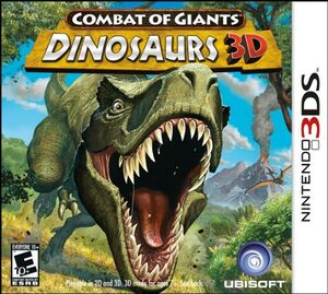 Combat of Giants- Dinosaurs 3D cover