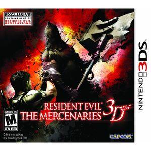 Resident Evil- Mercenaries 3D cover