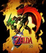 Legend of Zelda Ocarina of Time 3D promo image