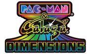 Pac-Man and Galaga Dimensions logo