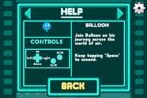 Mega Mash Help Balloon