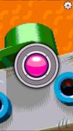 BBR Touchy green robot