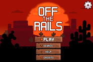 Off The Rails Titlescreen