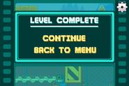 Mega Mash Level Complete
