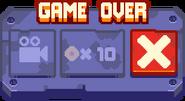 RustBucket endless game over mobile