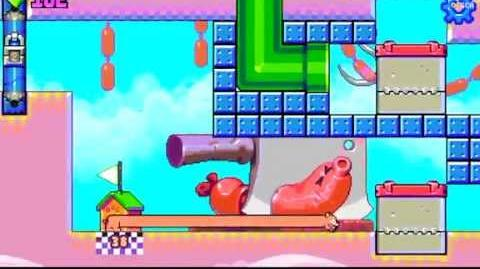 Silly Sausage in Meat Land - level 38