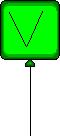 ET Green Balloon