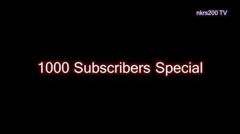 1,000 Subscriber Special
