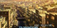 City Adorned in Light