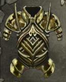 Reinforced Brass Torso Plate