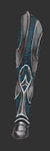 Steel Lined Topaz Leg Guard