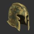 War Beaten Copper Helm