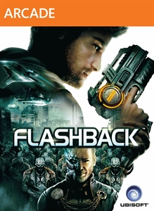 Box art for the XBLA version of the 2013 video game Flashback