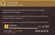 Titanium desc