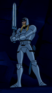Georgius with armor and Ascalon