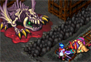 Dragon Zombie (BoF3) Defeated