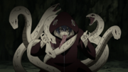 Kabuto with snakes