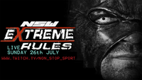 Extreme rules poster