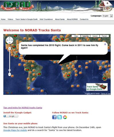File:NORAD Tracks Santa - Tracking Map - End of Journey.jpg