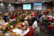 NORAD Tracks Santa 2007 ops center large