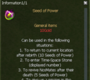 Seed of Power