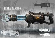 Nova 3 cannon