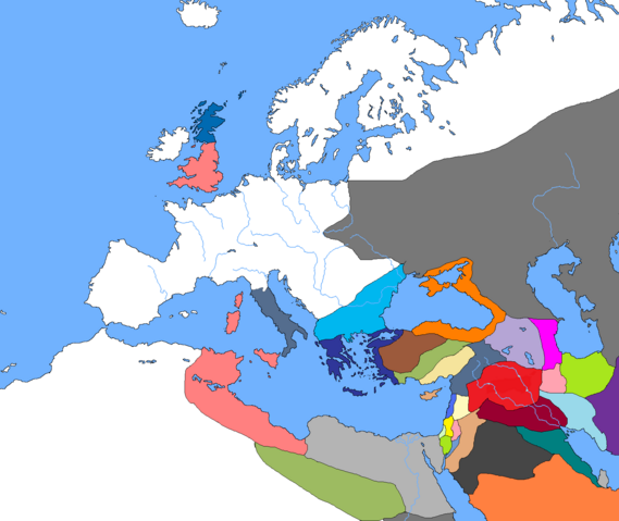 File:World Map, Year 1 (Beginning of Arachosian Expansions).png