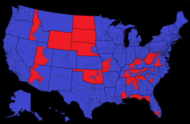File:Election of 2020 by Congressional District.png