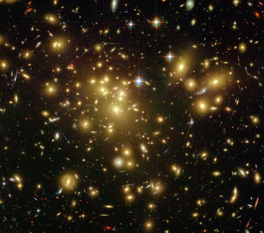 File:Galaxy Cluster Abell 1689.jpg