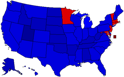 2016 Election by Percentage