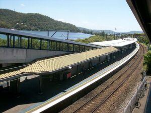 Woy Woy railway station platforms